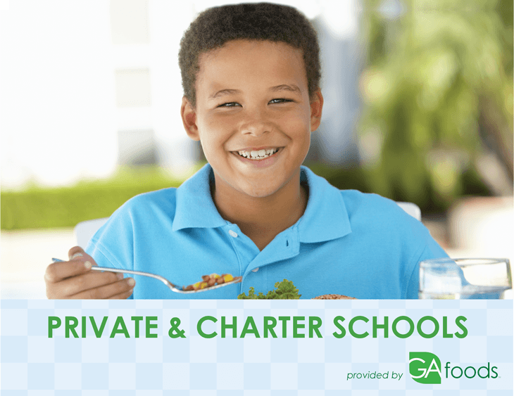 Charter and Private School meals