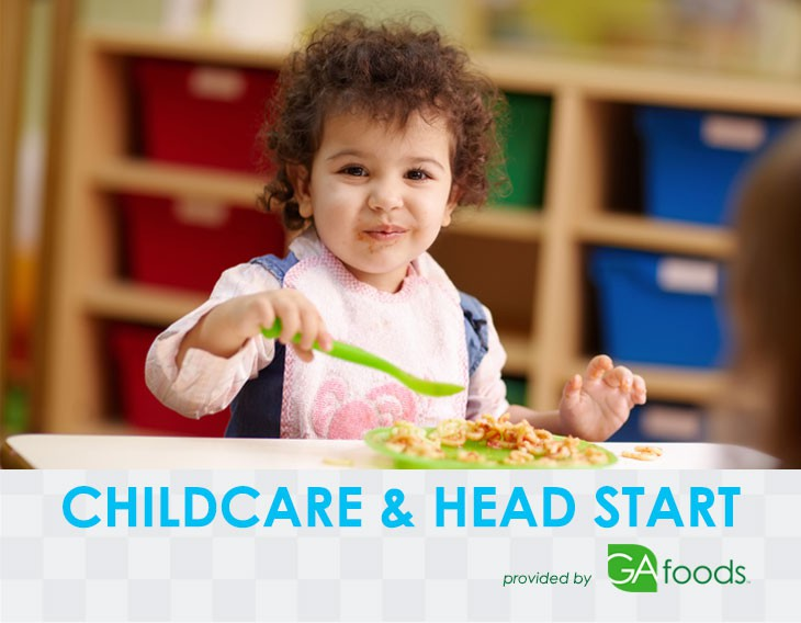 Meals for Childcare Centers and Head Start Programs