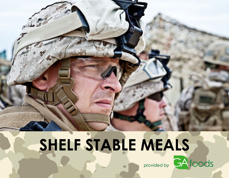 Shelf Stable Meals for the Military