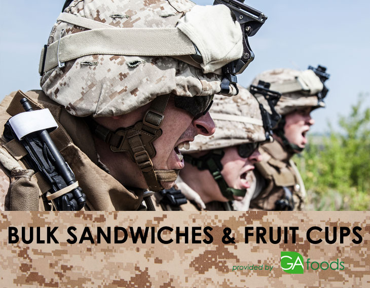 Military-Bulk-Sandwiches-and-Fruit-Cups