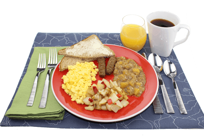 breakfast meals delivered