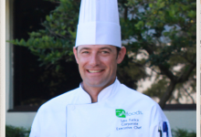 Executive Chef Michael Thrash crafts SunMeadow-brand home-delivered meals.