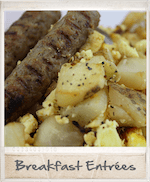 Frozen home delivered meals - wide variety of breakfast selections