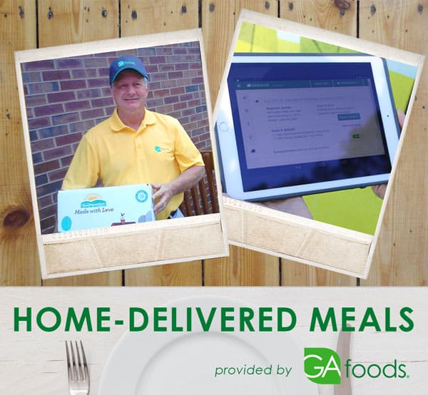 Home-delivered meals from GA Foods