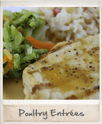 Frozen home delivered meals - wide variety of poultry selections